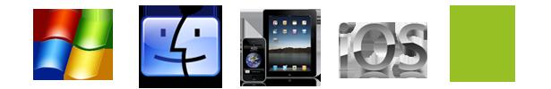 Работа виртуального тура на всех устройствах, windows, macbook, iphone, ipad, android